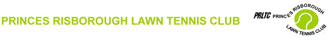 Princes Risborough Lawn Tennis Club (PRLTC), Buckinghamshire Logo
