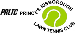 Princes Risborough Lawn Tennis Club (PRLTC), Buckinghamshire Logo